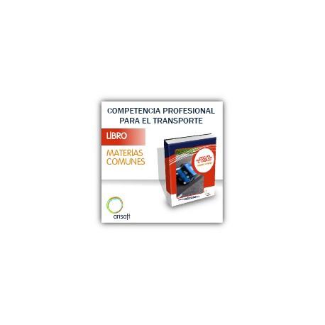 Manual Materias comunes - Competencia Profesional para el Transporte