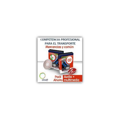 Pack ahorro audio y multimedia - Competencia Profesional para el Transporte