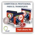 Pack ahorro Trío - Competencia Profesional para el Transporte