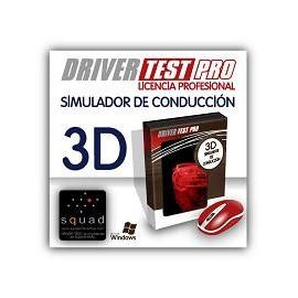 Simulador de conducción de turismo Driver Test Pro (Licencia profesional)
