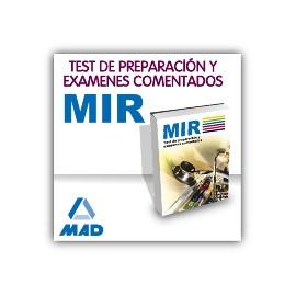 Manual Médico Interno Residente (MIR) - Test de preparación y exámenes comentados