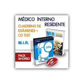 Pack ahorro - Médico Interno Residente (MIR) Test y manual