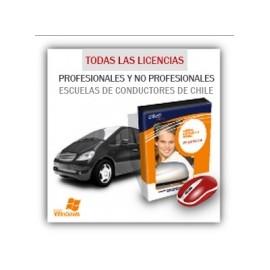 Escuelas de conductores - Licencias profesionales y no profesionales