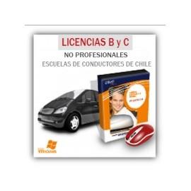 Escuelas de conductores - Licencias no profesionales