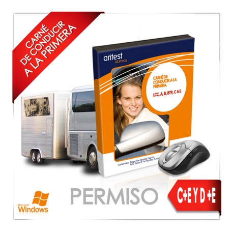 PERMISO C+E y D+E