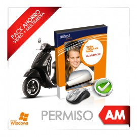 Pack ahorro - Test y manual del Permiso AM