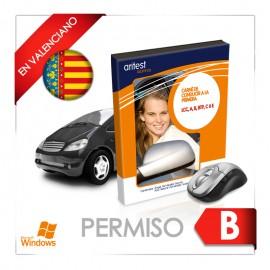 Test - Permiso B en valenciano