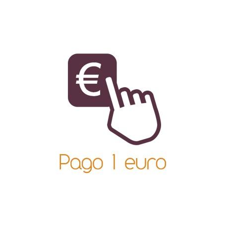 Pago 1 euro
