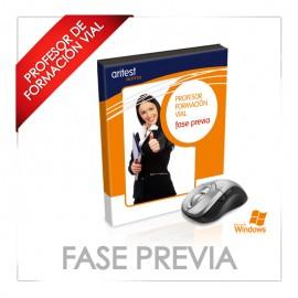 FASE PREVIA - PROFESOR DE AUTOESCUELA