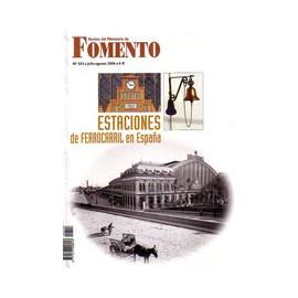 Revista Estaciones de ferrocarril en España - Nº 553