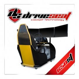 Pack ahorro - Simulador Drive Seat 650 ST + Programa de simulación DRIVESIM + Ordenador + TV