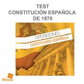 Test Constitución Española de 1978