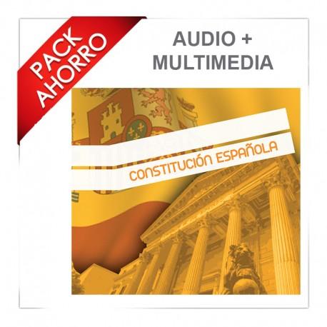 Pack ahorro audio y multimedia - Constitución Española